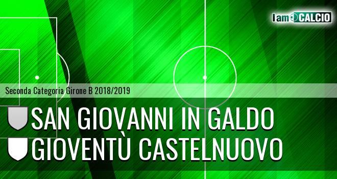 San Giovanni in Galdo - Gioventù Castelnuovo