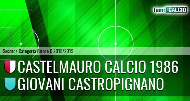 Castelmauro Calcio 1986 - Giovani Castropignano
