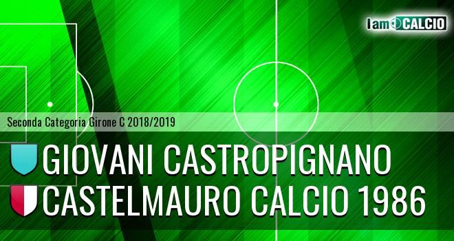 Giovani Castropignano - Castelmauro Calcio 1986