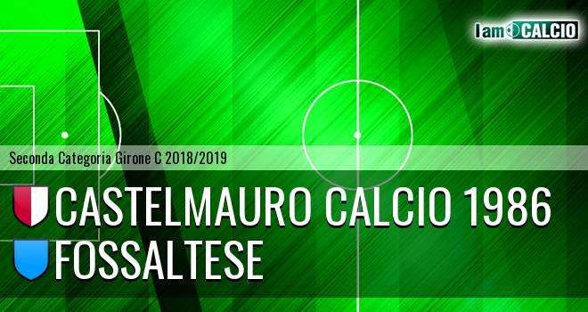 Castelmauro Calcio 1986 - Fossaltese