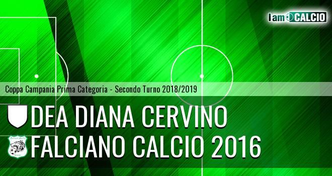 Dea Diana Cervino - Falciano Calcio 2016