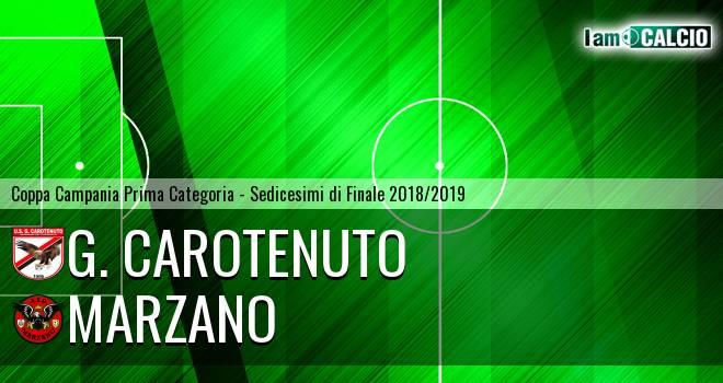 G. Carotenuto - Marzano