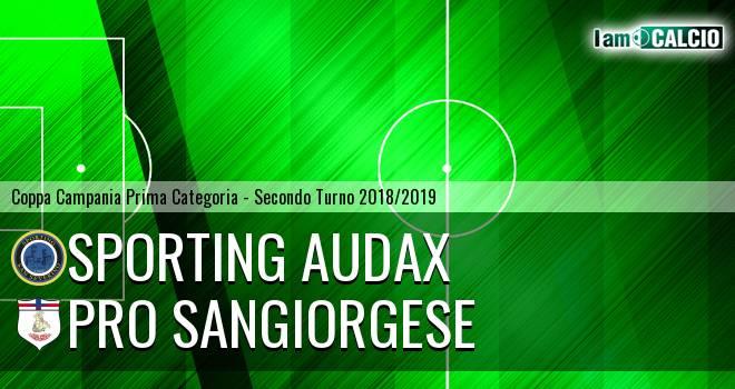 Sporting Audax - Pro Sangiorgese