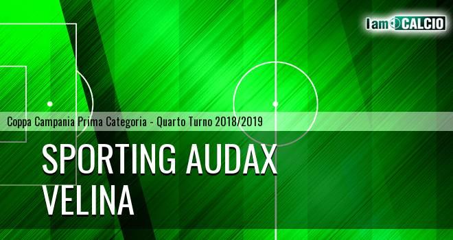 Sporting Audax - Velina 2-1. Cronaca Diretta 06/02/2019