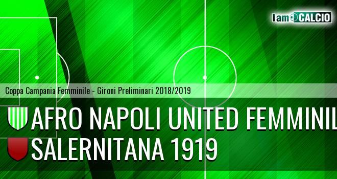 Afro Napoli United Femminile - Salernitana 1919