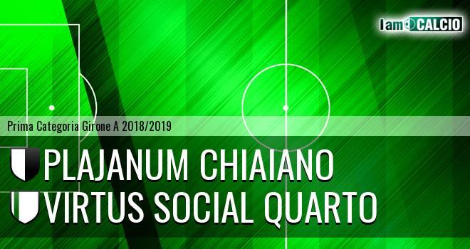 Plajanum Chiaiano - Quarto Calcio