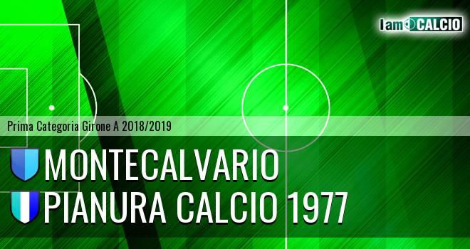 Montecalvario - Pianura Calcio 1977