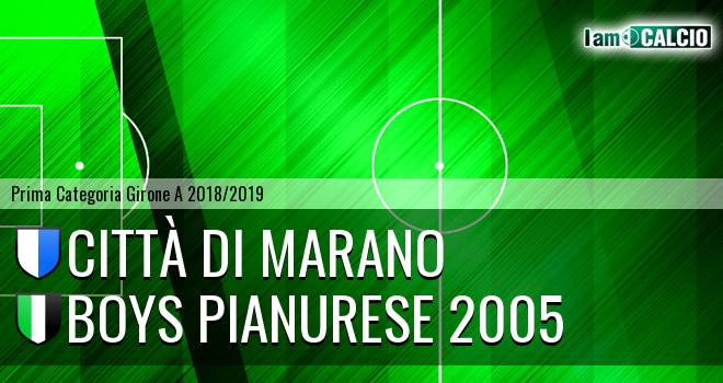 Città di Marano - Boys Pianurese 2005