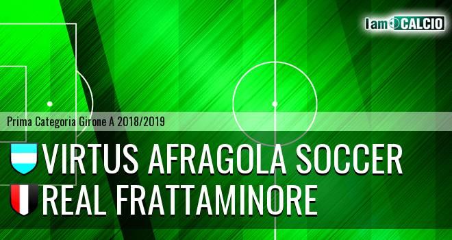 Virtus Afragola Soccer - Real Frattaminore