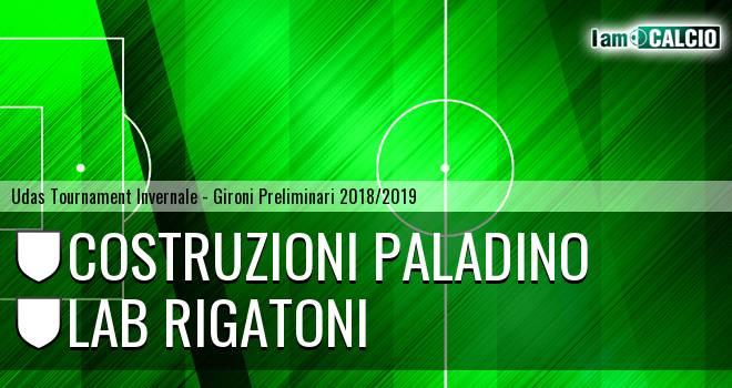Costruzioni Paladino - LAB Rigatoni
