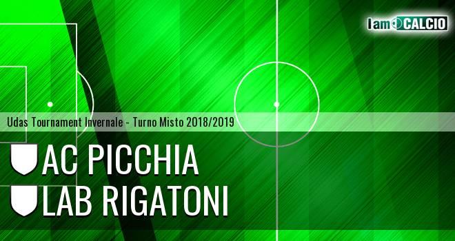 AC Picchia - LAB Rigatoni