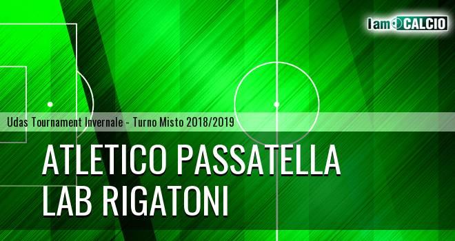 Atletico Passatella - LAB Rigatoni