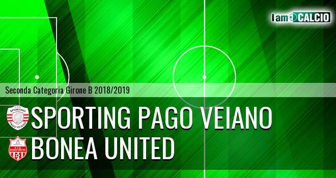 Sporting Pago Veiano - Bonea United