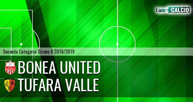 Bonea United - Tufara Valle