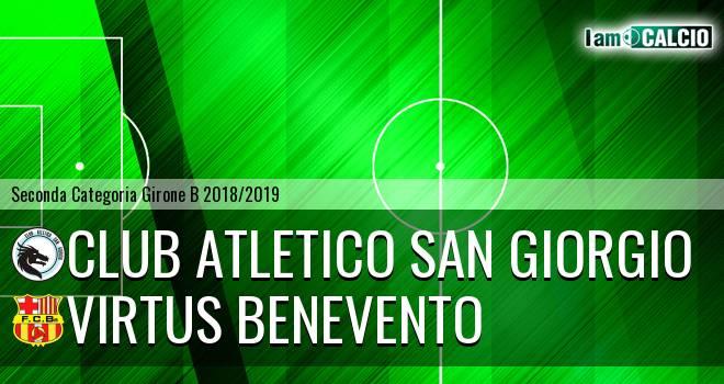 Club Atletico San Giorgio - Virtus Benevento