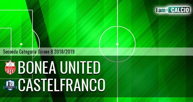 Bonea United - Castelfranco