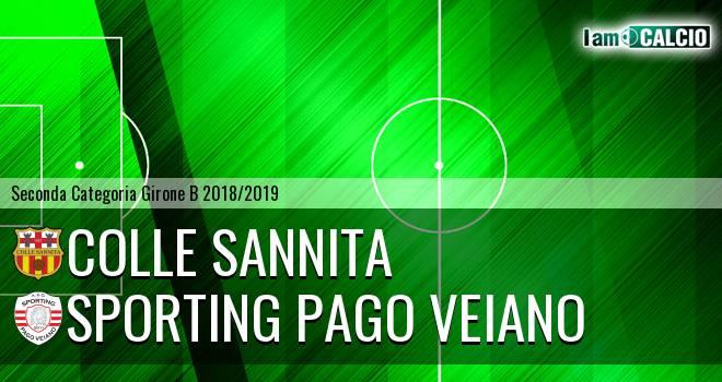 Colle Sannita - Sporting Pago Veiano