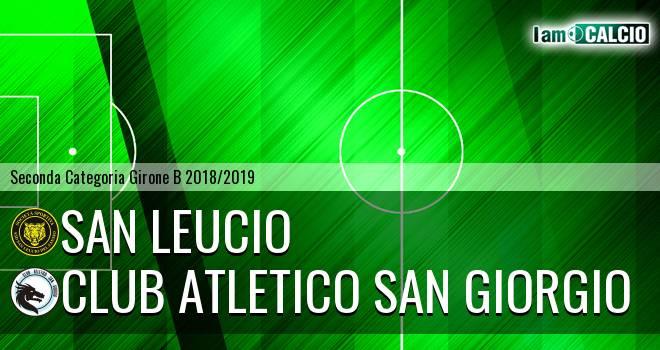 San Leucio - Club Atletico San Giorgio