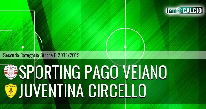 Sporting Pago Veiano - Juventina Circello