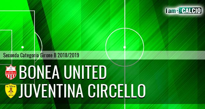 Bonea United - Juventina Circello