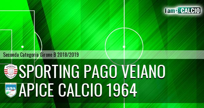 Sporting Pago Veiano - Apice Calcio 1964