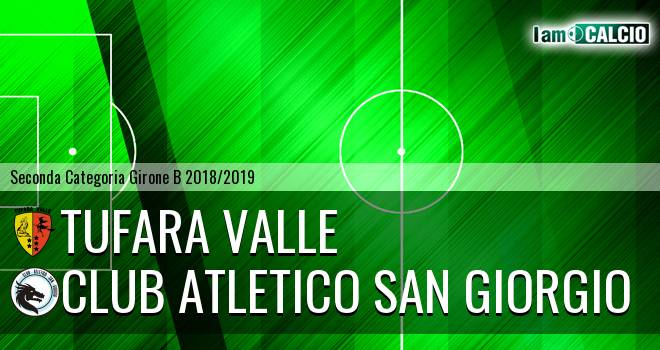 Tufara Valle - Club Atletico San Giorgio
