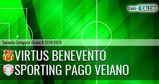 Virtus Benevento - Sporting Pago Veiano