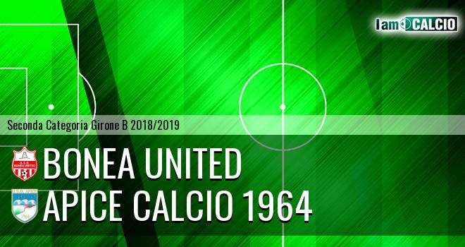 Bonea United - Apice Calcio 1964