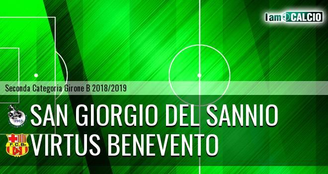 San Giorgio del Sannio - Virtus Benevento