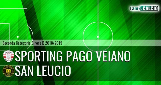 Sporting Pago Veiano - San Leucio