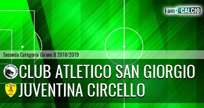 Club Atletico San Giorgio - Juventina Circello