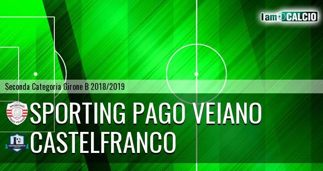 Sporting Pago Veiano - Castelfranco