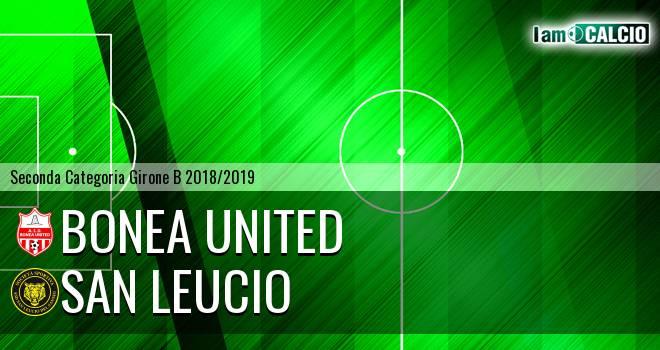 Bonea United - San Leucio