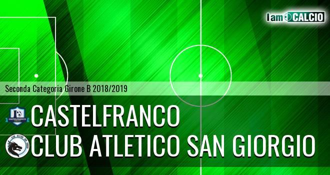 Castelfranco - Club Atletico San Giorgio