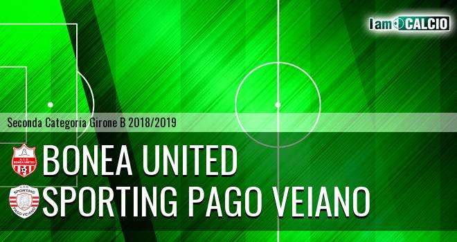 Bonea United - Sporting Pago Veiano