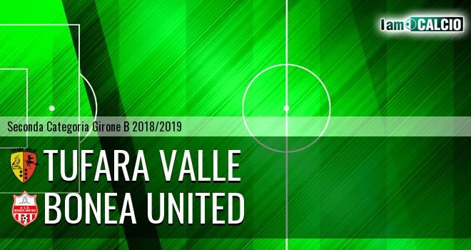 Tufara Valle - Bonea United