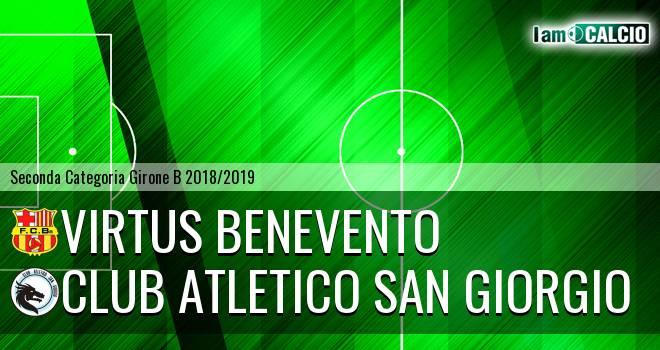 Virtus Benevento - Club Atletico San Giorgio