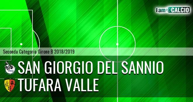 San Giorgio del Sannio - Tufara Valle