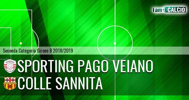 Sporting Pago Veiano - Colle Sannita