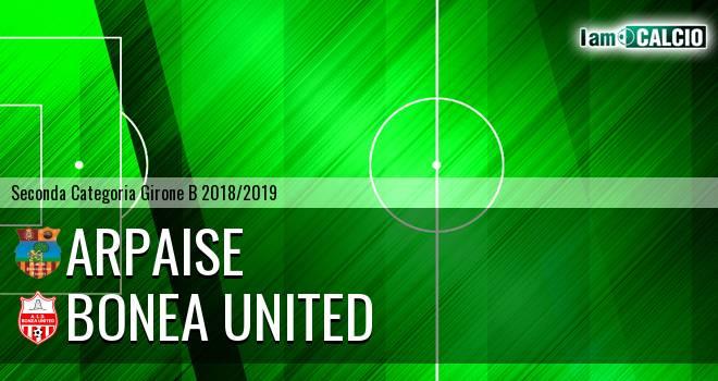 Arpaise - Bonea United
