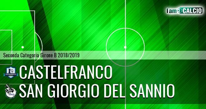 Castelfranco - San Giorgio del Sannio