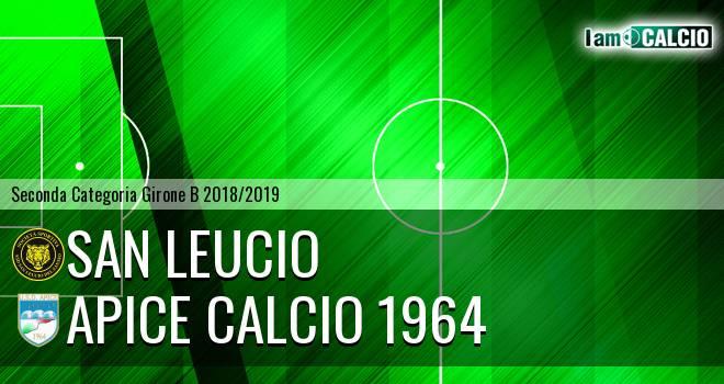 San Leucio - Apice Calcio 1964