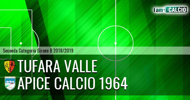 Tufara Valle - Apice Calcio 1964