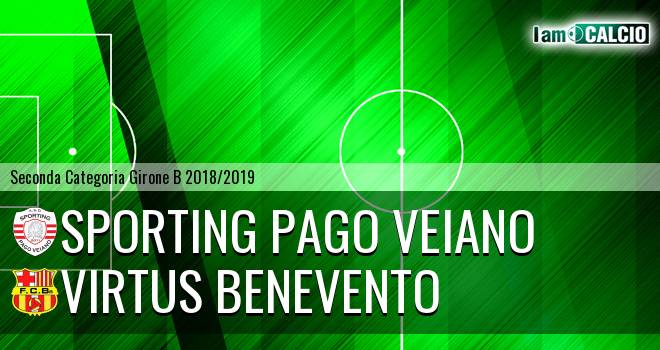 Sporting Pago Veiano - Virtus Benevento