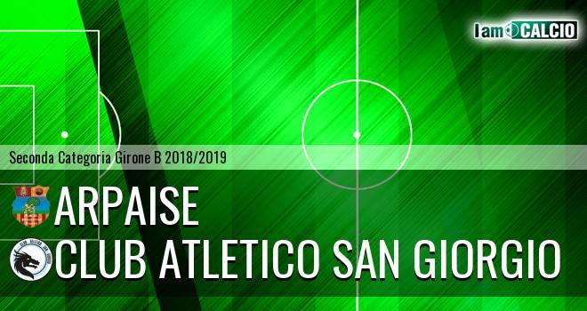 Arpaise - Club Atletico San Giorgio
