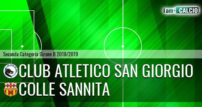 Club Atletico San Giorgio - Colle Sannita