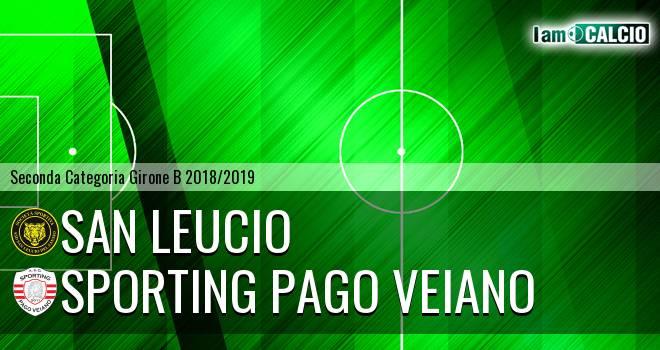 San Leucio - Sporting Pago Veiano