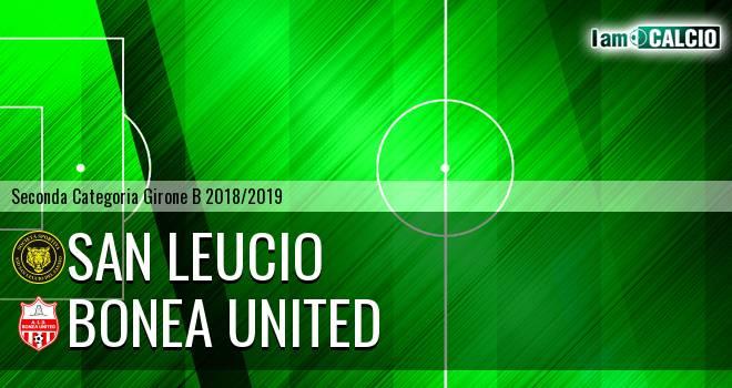 San Leucio - Bonea United