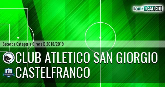 Club Atletico San Giorgio - Castelfranco