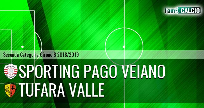 Sporting Pago Veiano - Tufara Valle